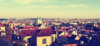 A View of the City of Prague in the Czech Republic