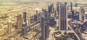 Skyscrapers in Dubai, United Arab Emirates