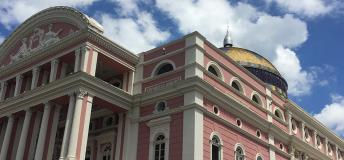 Amazon Theatre in Manaus