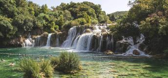 Croatia, waterfall, national park