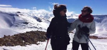 Skiing in Faraya, Lebanon