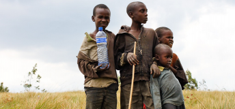 Children in Burundi