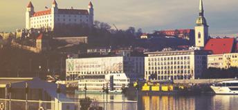 Danube River, Bratislava, Slovakia
