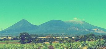 Mountain landscape in El Salvador