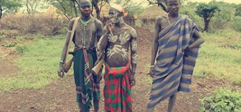 Local tribe members of Ethiopia