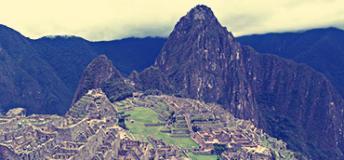 The world famous Machu Pichu. Photo by Anie Bierbower