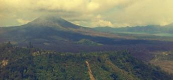 Bali's Largest Volcano