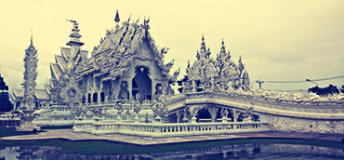White Temple of Chiang Rai, Thailand