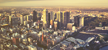 City view of Melbourne, Australia
