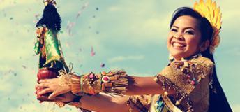 Tacloban's Pintados Festival celebration
