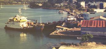 Port in Vanuatu