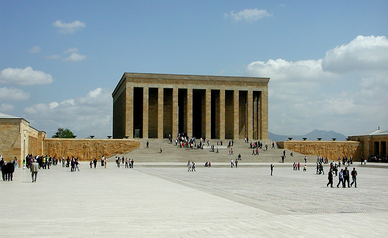 Anıtkabir in Ankara, Turkey