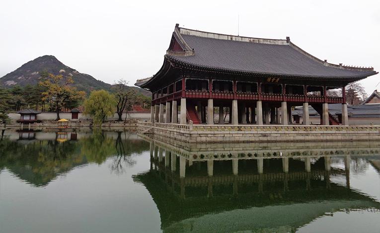 Landscape in Seoul, South Korea